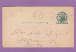 THE SALVATION ARMY,POSTCARD FROM JERSEY CITY. - Ganzsachen