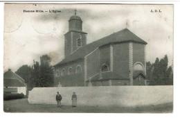 Hamme-Mille - L'Eglise - Circulée En 1905 - Edit. L.D.L. - 2 Scans - Beauvechain