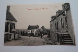 CPA Animée - TREBAN (03) - Route Du Montet - France