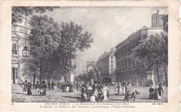 N° 18  ANCIEN  PARIS  LE BOULEVARD DES ITALIENS VERS 1815 - France