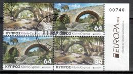 Zypern / Cyprus / Chypre 2018 Heftblatt/from Booklet EUROPA Gestempelt/used - 2018