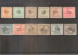 Ruanda-Urundi - 50/61 - Série Complète - X/MH - 1924-44: Neufs