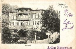 POLSKA - POLAND - TRZEBNICA - TREBNITZ In Schlesien, Waldhaus - 1900 - Poland