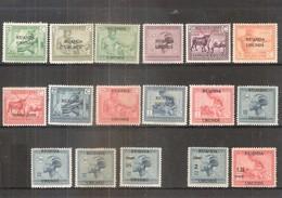 Ruanda-Urundi - 62/76 + 90/91 - Séries Complètes - X/MH - 1924-44: Neufs