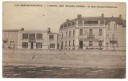 85-LES SABLES-D'OLONNE-L'Hôtel Des ROCHES NOIRES, 12 Quai Georges Clémenceau...1935 - Sables D'Olonne