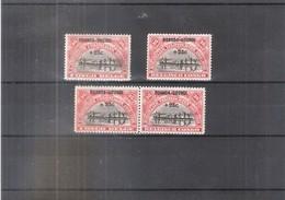 Ruanda-Urundi - 77/78 + 77A Paire Horizontale - XX/MNH - 1924-44: Neufs