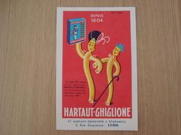 BUVARD HARTAUT-GHIGLIONE - Buvards, Protège-cahiers Illustrés