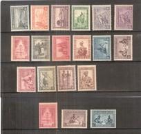 Ruanda-Urundi - 92/106 + 96a + 111/13 - Séries Complètes - X/MH - 1924-44: Neufs