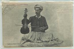 CPA AFRIQUE Algérie Hommes ALGER MUSICIENS ISRAELITE N°395 COLL IDEALE F.S 1915 VOIR IMAGES - Algérie