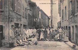 CPA LA DROME PITTORESQUE - Romans - Rives Du Ruisseau - Une Corvée De Lavage - Romans Sur Isere