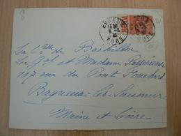 CP41/  SEMEUSE BANDE PUB SUR LETTRE - France