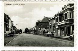 Eghezée - Route De Namur - Banque De Bruxelles - Edit. Daussogne-Duchenne - 2 Scans - Eghezée