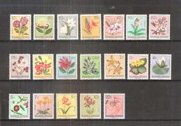 Ruanda-Urundi - Fleurs - 177/95 - Série Complète - X/MH - 1948-61: Neufs