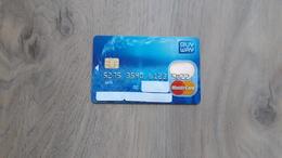 MEC.62 / BELGIQUE BELGIE / CREDIT CARD / MASTERCARD / BUY WAY / - N°503 - Cartes De Crédit (expiration Min. 10 Ans)