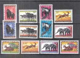 Ruanda-Urundi - Animaux - 205/16 - Série Complète - X/MH - 1948-61: Neufs