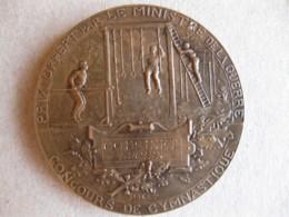 Medaille Concours De Gymnastique, Ministre De La Guerre, Attribuée à Cousinet L. 1904, Par H. DUBOIS - Other