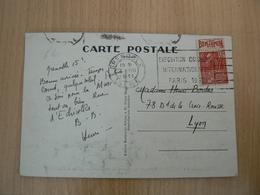 CP41/  N° 272 BANDE PUB SUR CARTE POSTALE - France