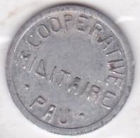 64000. Pyrénées-Atlantiques. Coopérative Militaire. 5 Centimes, En Aluminium - Monétaires / De Nécessité