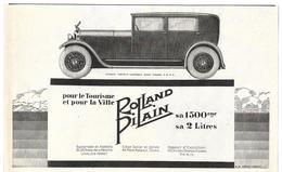1926 Rolland Pilain Usines Tours Ateliers Levallois Perret (Automobile - Voiture Ancienne - Publicité - Pub) - Publicités