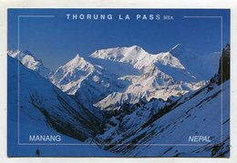 NEPAL - AK 351186 Manang - Thorung La Pass - Nepal