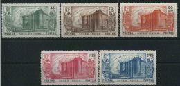 1939 Costa D'Avorio, 150° Ann. Della Rivoluzione, Serie Completa Nuova (*) Linguellata - Costa D'Avorio (1892-1944)