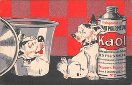 KAOL - Carte Publicité Produit Décapant Pour Métaux - Usine à COURBEVOIE 92 - Publicité