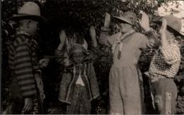 ! Alte Fotokarte, Photo, Kinder, Cowboy, Indianer - Indianer