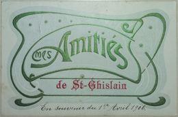 Saint-Ghislain Amitiés Carte Fantaisie - Saint-Ghislain