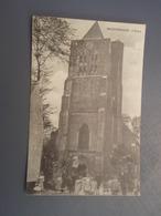 Cpa BROUCKERQUE L'Eglise. 1917 - France