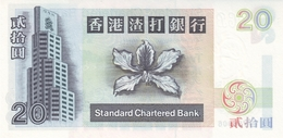 Hong Kong P.285d  20 Dollars 2002 Unc - Hongkong