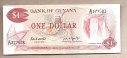 Guyana - Banconota Non Circolata Da 1 Dollaro P-21f - 1989 - Guyana