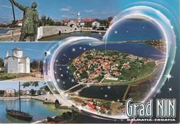 Cartolina Dalla Dalmazia - Croazia (Grad Nin) Per Spinea 2011 (vedi Foto) - Croazia