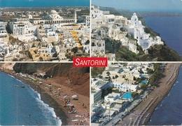 Cartolina Dalla Grecia (Santorini) Per Vicenza 2008 (vedi Foto) - Grecia
