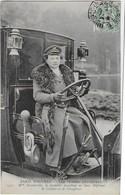 PARIS NOUVEAU : Les Femmes Chauffeur - Mme DECOURCELLEpossédant Les 2 Diplomes De Cochère Et Chauffeuse (1907) - Transport Urbain En Surface
