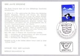 1985  2000 Jahre Bregenz FDC (ANK 1836, Mi 1805) - FDC