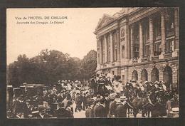 Paris 8ème - Vue De L'Hôtel De Crillon - Journée Des Draggs , Le Départ ( Grosse Animation ) - Paris (08)