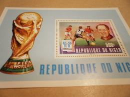 Miniature Sheet 1978 Football World Cup Niger Argentina - Niger (1960-...)