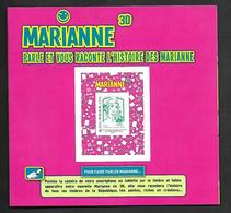A298  Adhésif N°864A N++ Marianne Parle Et Raconte L'histoire Des Marianne - Autoadesivi