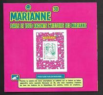 A298  Adhésif N°864A N++ Marianne Parle Et Raconte L'histoire Des Marianne - Luchtpost
