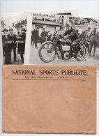 12 Affichettes 13/18 1924 National Sport Publicité Avec Enveloppe - Deportes