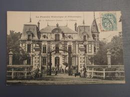 Cpa Robecourt Le Château à Proximité D'Hombleux (Somme) Belle Carte Lisse 1907 - Francia