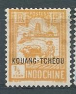 Kouang Tchéou  -  Yvert   N°  74 (*)   -  Bce 21101 - Unused Stamps