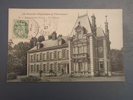 Cpa Bacquencourt Le Château Près De NESLE - HOMBLEUX 1907, Belle Carte - France