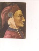 M8922 CELEBRITA' Dante Alighieri POETA 1963 Viaggiata - Scrittori