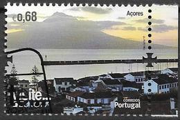 2012 Azoren   Mi. 578 Used  Bloc Stamp Europa : Besuche - Europa-CEPT