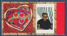 = Timbre Coeur Saint Valentin 2006 Jean Louis Scherrer Type Autocollant  -20g Neuf  Y&T 3863A - Spink 48 - Personnalisés