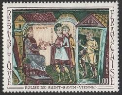 France Neuf Sans Charnière 1969 Fresque De L'église De Saint-Savin Vienne YT 1588 - Religious
