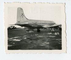 Mini Photo Avion Long Courrier à Situer Identifier Mai 1946 Plane SABENA - Aviation