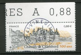 13128 FRANCE  N° ? 0.88€  Les 500 Ans Du Château De Chambord 2019 (cachet Rond) P.J Du 1.6.2019  TTB - Frankreich