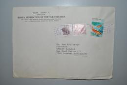 Corée Sud 1980 Enveloppes/Timbres - Corée Du Sud